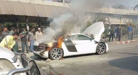 Audi R8 V10 Burns To A Crisp In Bangladesh (3)