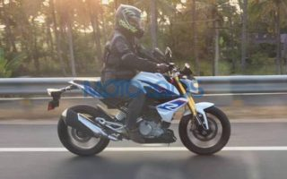 BMW G 310 R spied uncamouflaged 320x200 BMW G 310 R Spotted Testing in India Completely Undisguised Ahead of Launch This Year