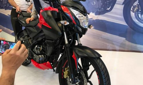 Bajaj Pulsar NS160 2 500x300 New Bajaj Pulsar NS160 Revealed; Gets Oil Cooling, ABS And More Torque
