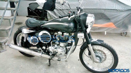 DC Design Royal Enfield 500 Images Reveal Retro-Futuristic Body Kit Worth INR 2.5 Lakhs