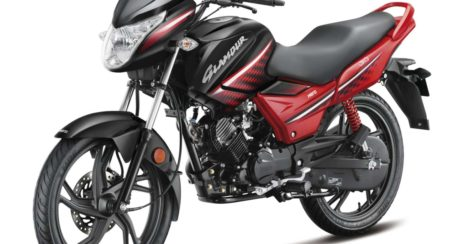 Hero MotoCorp - Glamour 3-4th Rev Front