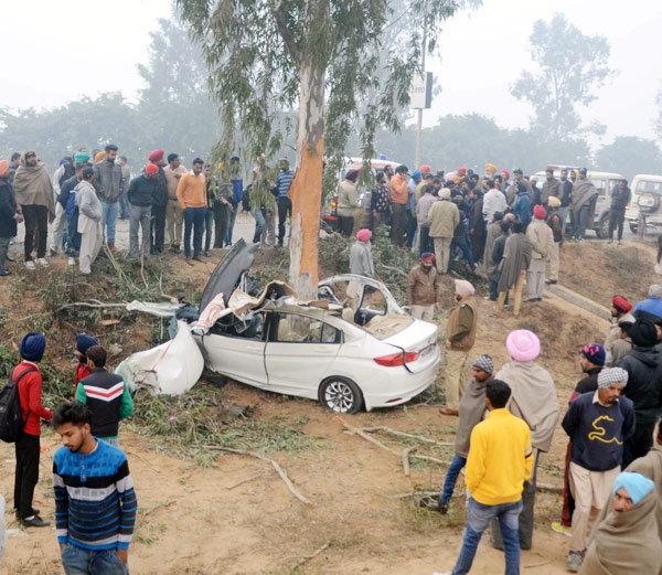 Honda-City-accident-Ludhiana-6