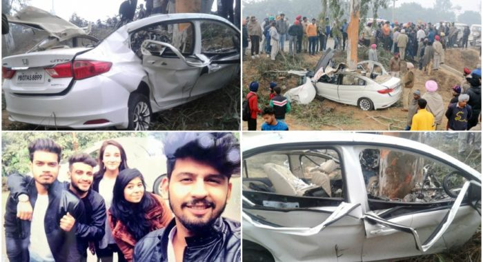 Four Youngsters Killed After Allegedly Speeding Honda City Crashes at 150 kmph