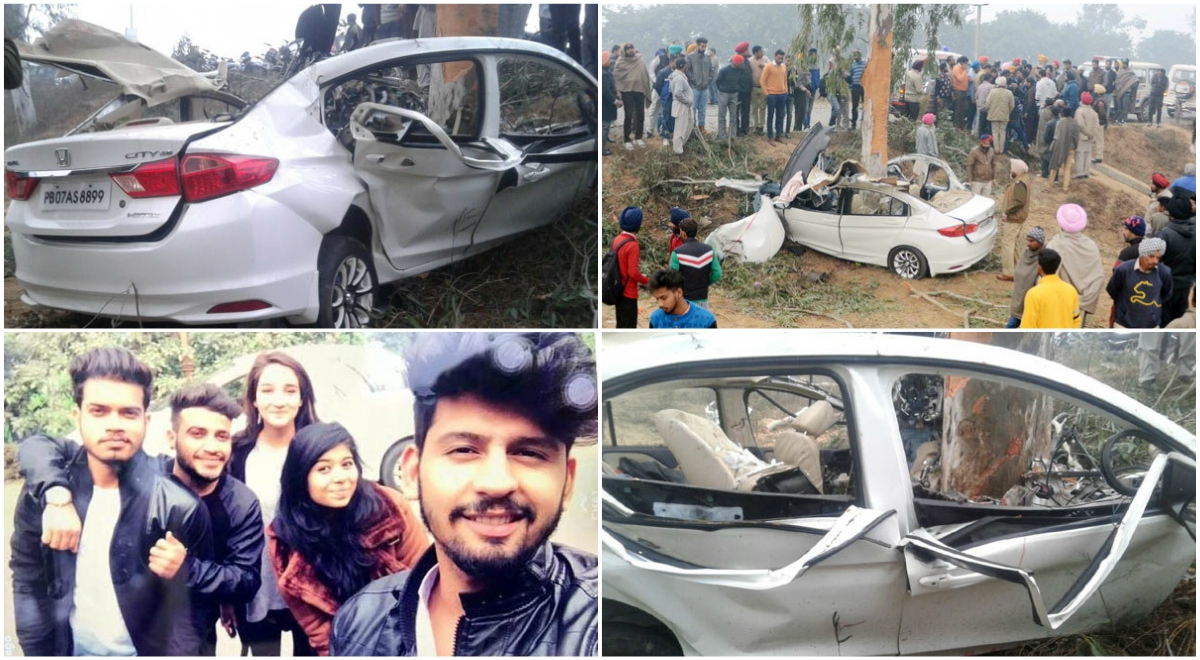 Four Youngsters Killed After Allegedly Speeding Honda City ...