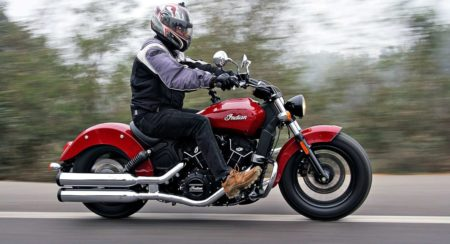 Indian Scout Sixty - Review - Action Shots (6)