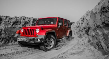 Jeep Wrangler Unlimited on Camp Jeep Off-Road Trail (3)