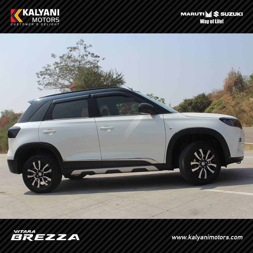 This Dealer Modified Vitara Brezza Is Asking For A INR 24