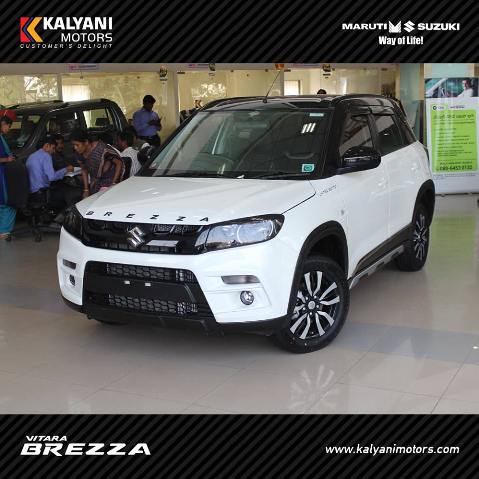Maruti Modified This Dealer Modified Vitara Brezza Is