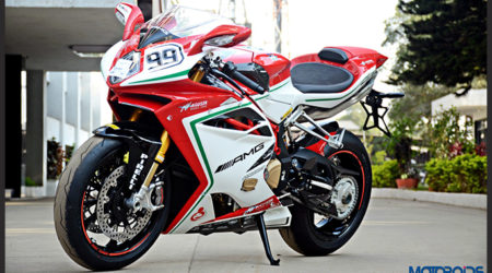 MV Agusta F4 RC Pictorial Feature Image 1 450x250 Video and Images : MV Agusta F4 RC with 212 hp, Worth INR 60 Lakh OTR