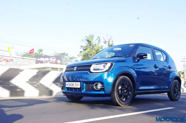 Maruti Ignis Review - New Images - Action Shots (3)
