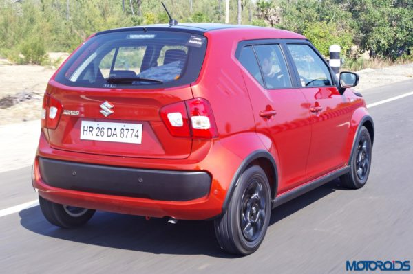 Maruti Ignis Review - New Images - Action Shots (7)