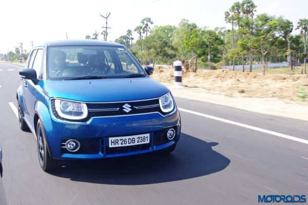 Maruti Ignis Review – New Images – Action Shots (8)