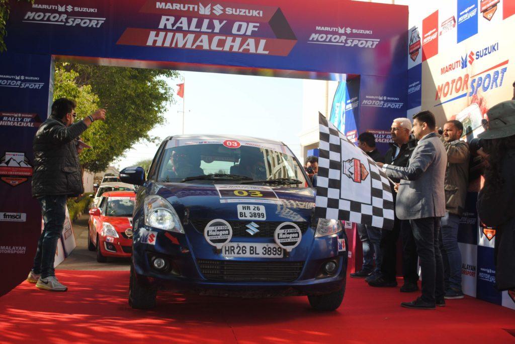Maruti-Suzuki-Rally-of-Himachal-Flagged-Off-From-Panchkula-1-1024x685