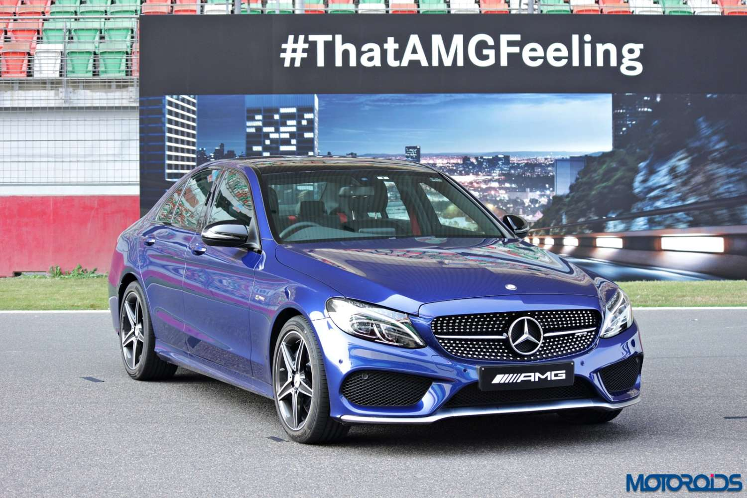 Mercedes benz c43 amg track review genial monstrosity for Where do they make mercedes benz