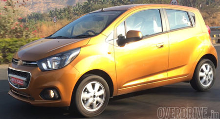 New Chevrolet Beat Facelift