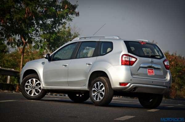 Nissan Terrano AMT Rear