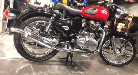 Images: Royal Enfield Classic 350 Redditch Series Starts Arriving At Dealerships