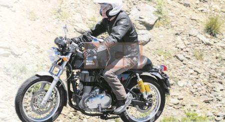 Royal Enfield Continental GT ABS spied (1)