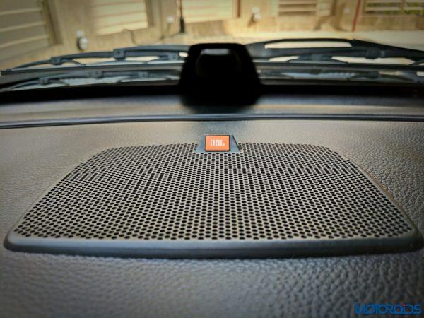 Tata Hexa JBL speaker
