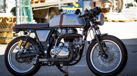Meet The World's Most Powerful Turbocharged Royal Enfield Continental GT