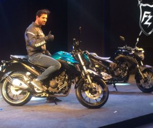 Yamaha FZ150 India launch John Abraham 300x250 New 2017 Yamaha FZ25 Launched In India : All You Need To Know and Image Gallery