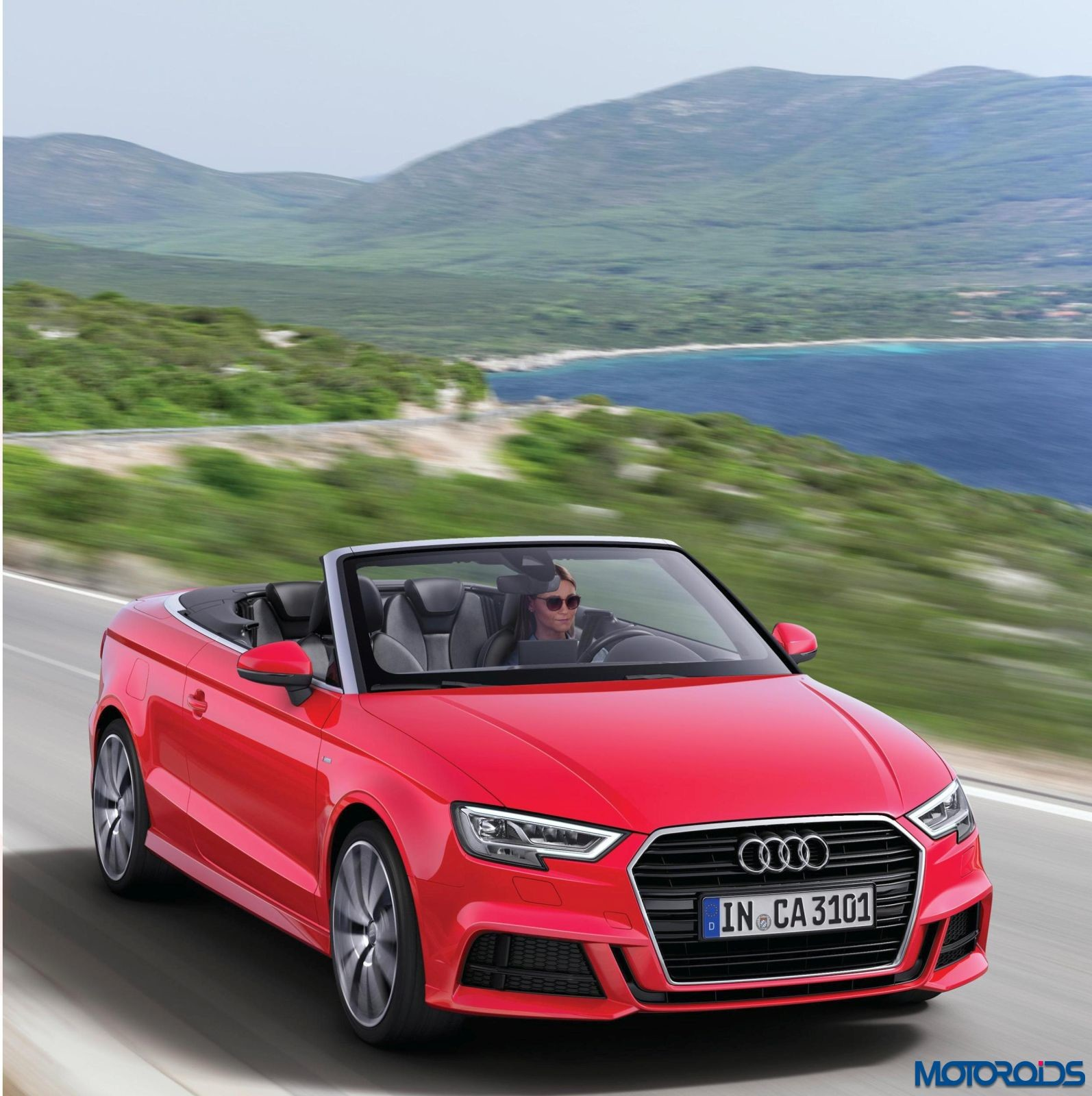 2017 audi a3 cabriolet launched in india prices start at inr lakh ex delhi motoroids. Black Bedroom Furniture Sets. Home Design Ideas