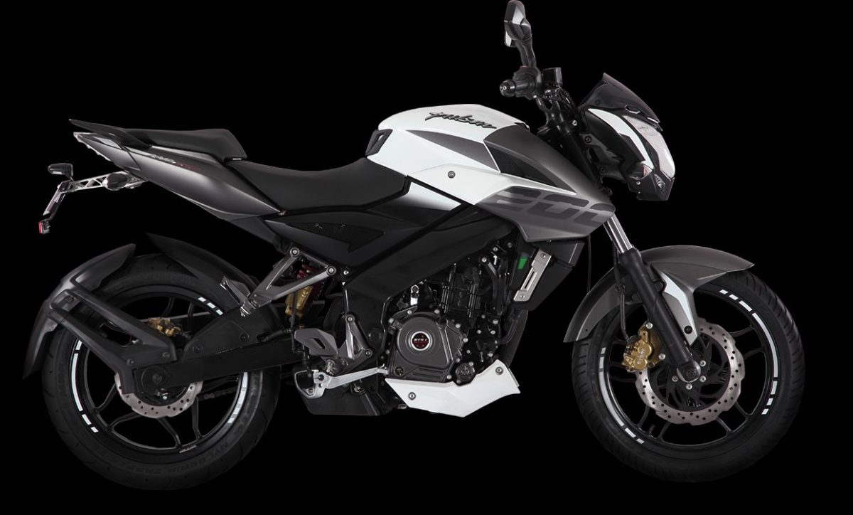 2017 Bajaj Pulsar NS200 – Mirage White