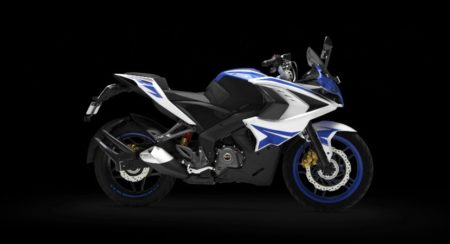 2017 Bajaj Pulsar RS200 - Racing Blue
