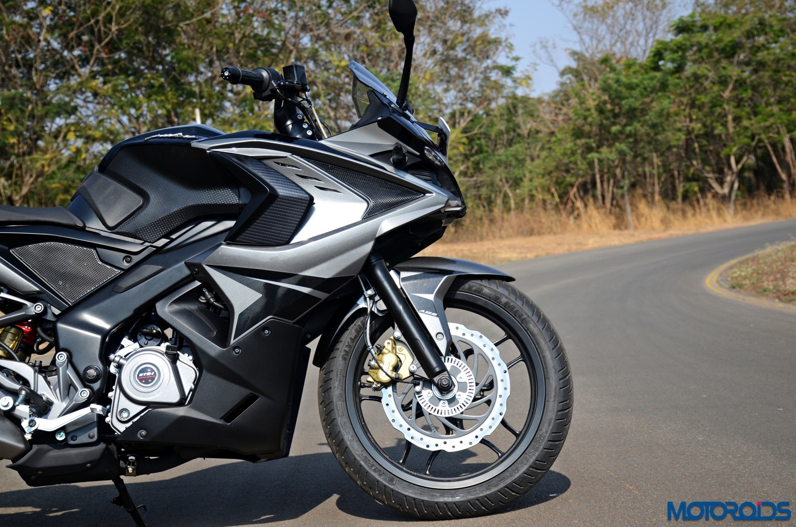2017 Bajaj Rs200 First Ride Review List Of Changes