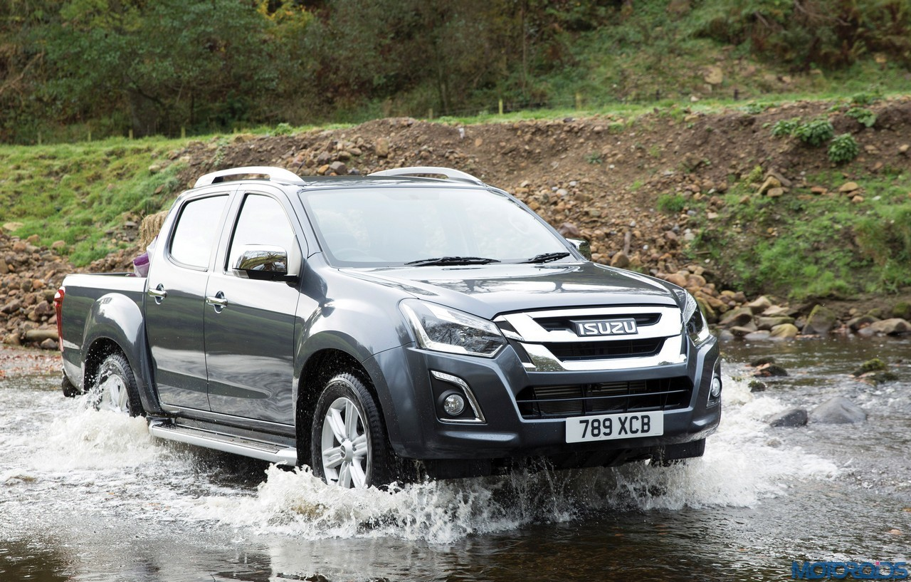 2017 isuzu d max previewed to get new 1 9 litre turbo. Black Bedroom Furniture Sets. Home Design Ideas