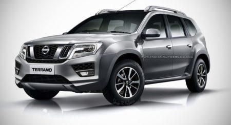 2017 Nissan Terrano Facelift render