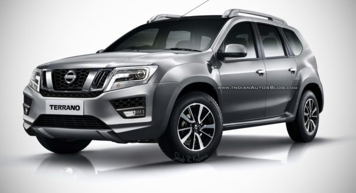 Check Out The 2017 Nissan Terrano Facelift Render