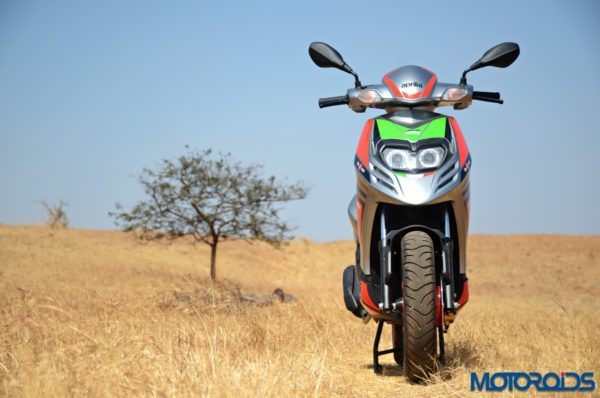 Aprilia Sr150 Race First Ride Review (49)