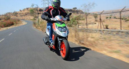 Aprilia Sr150 Race First Ride Review (6)