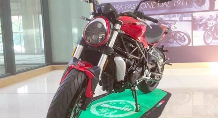 Middleweight Benelli Roadster Seen in Production Ready Form; Likely To Be Unveiled Soon