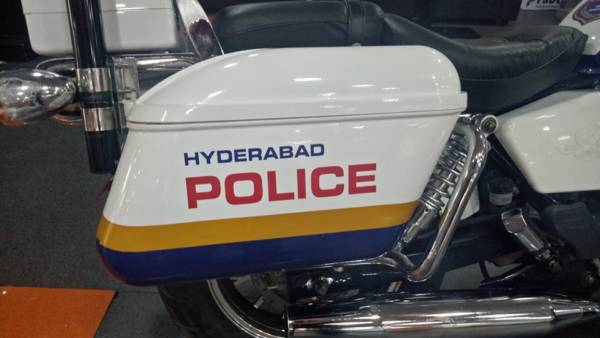 Fab Regal Raptor Motorcycles Hyderabad Police (5)