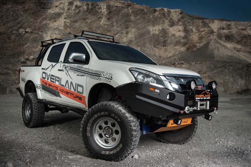 Best Overland Vehicles >> Here's How Azad4x4 Can Customise Your Isuzu D-Max V-Cross ...
