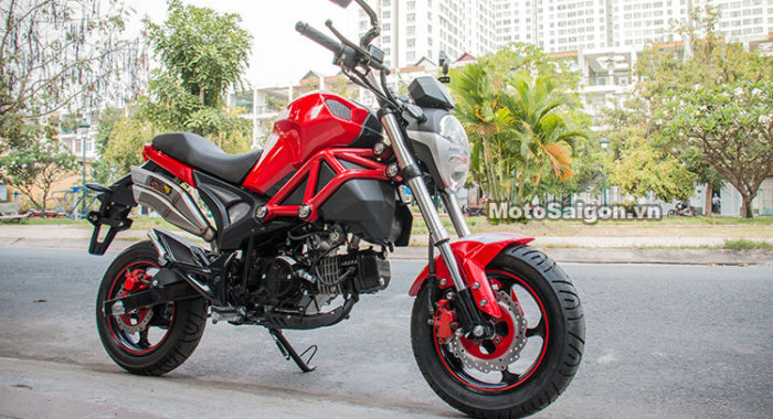 get yourself one of these ducati monster lookalike mini motos for just over inr k