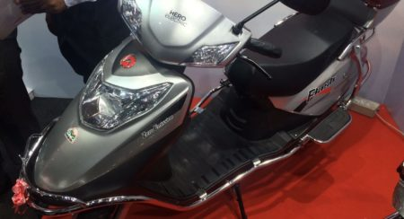 Hero Flash Electric Scooter India Launch (1)