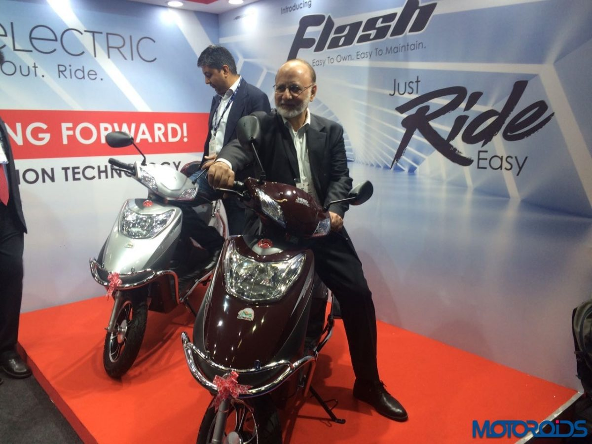 Hero Flash Electric Scooter India Launch (4)