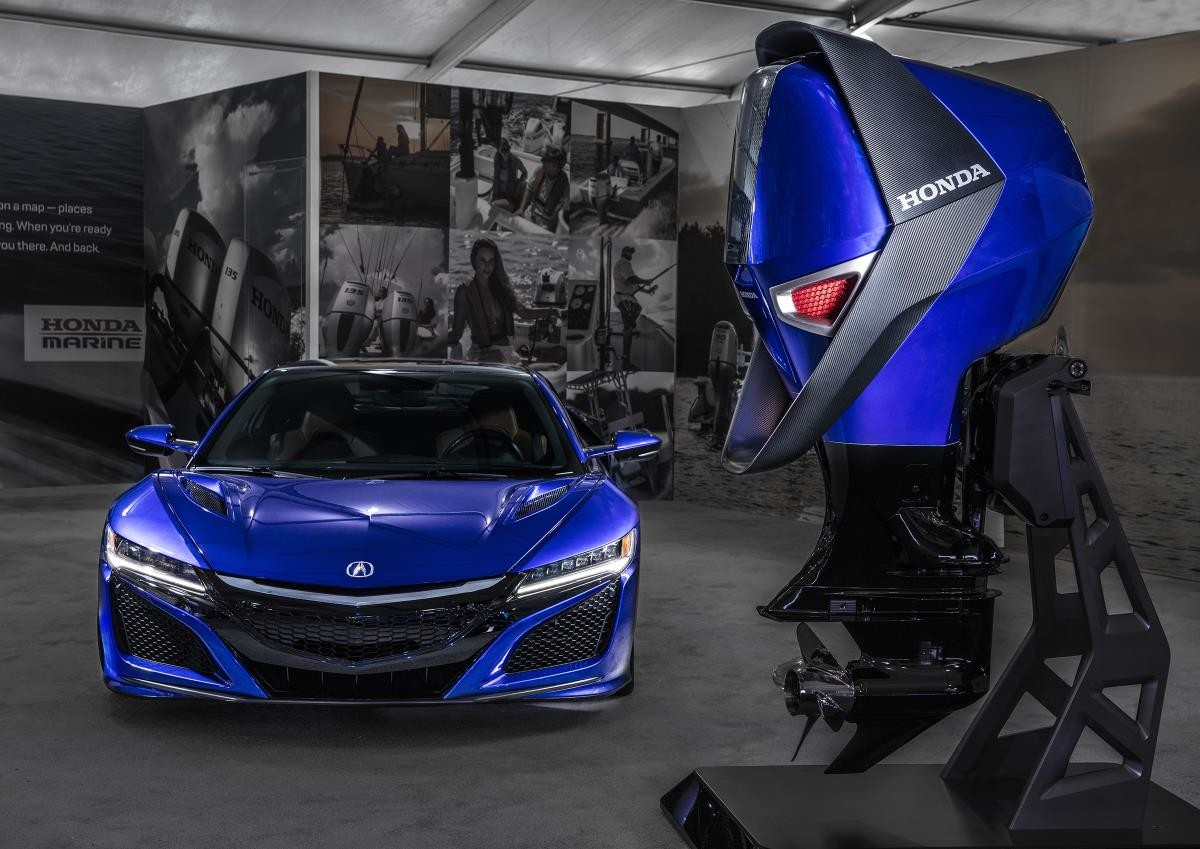 honda marine designs concept engine inspired by the acura. Black Bedroom Furniture Sets. Home Design Ideas