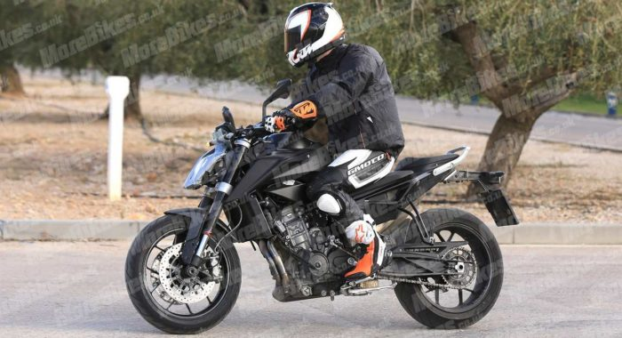 First Images of KTM 790 Duke Pre-production Model