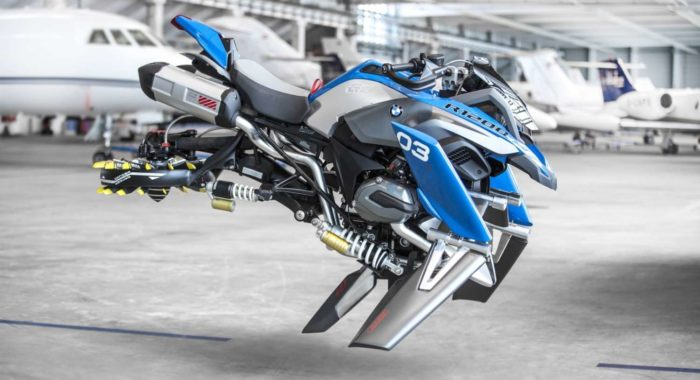 BMW Motorrad and LEGO Technic Team Up To Design a R 1200 GS Adventure Concept That Can Fly