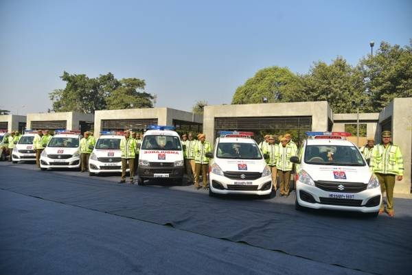 Maruti Suzuki presents 15 new vehicles to Haryana Police Department (3)