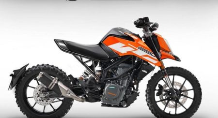 The New KTM 250 Duke Already Hits The Virtual Chop Shop