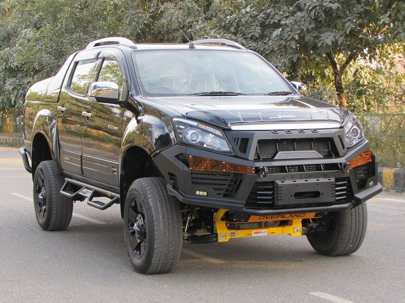 here s how azad4x4 can customise your isuzu d max v cross. Black Bedroom Furniture Sets. Home Design Ideas