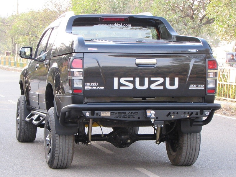here's how azad4x4 can customise your isuzu d-max v-cross | motoroids