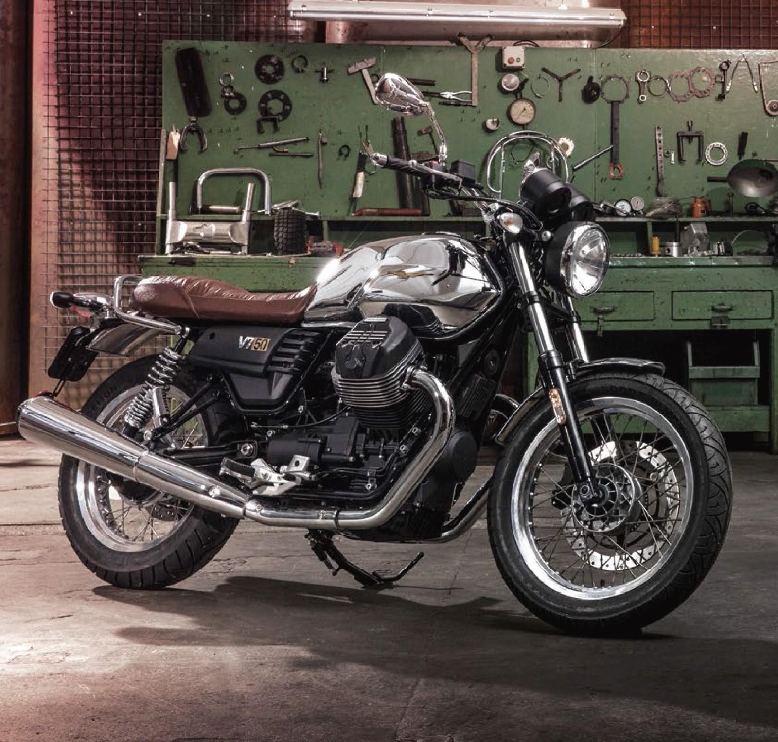 check out the new moto guzzi v7 iii anniversario edition. Black Bedroom Furniture Sets. Home Design Ideas