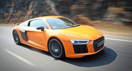 New Audi R8 V10 Plus action (4)