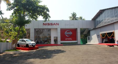 Nissan India Inaugurates EVM Cars Service Centre in Kochi (2)